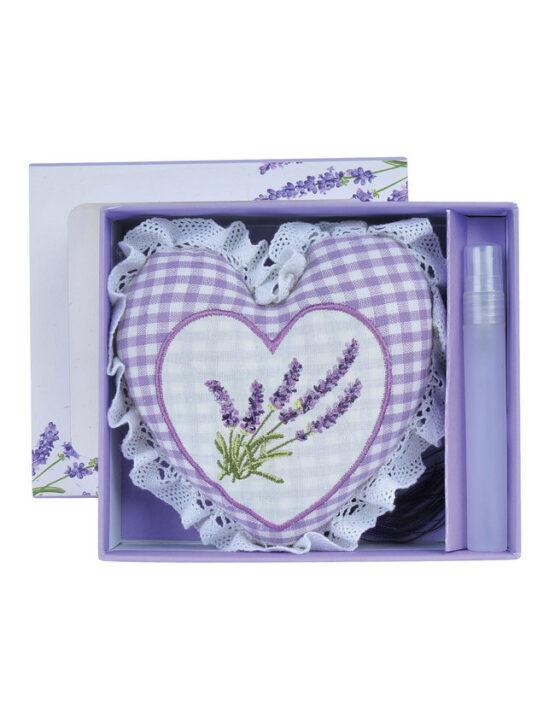 Heart scented sachet