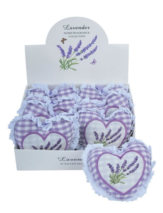 Heart scented sachets
